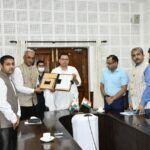 प्रदेश के औद्योगिक विकास में सहयोगी बने सिडबी- मुख्यमंत्री धामी